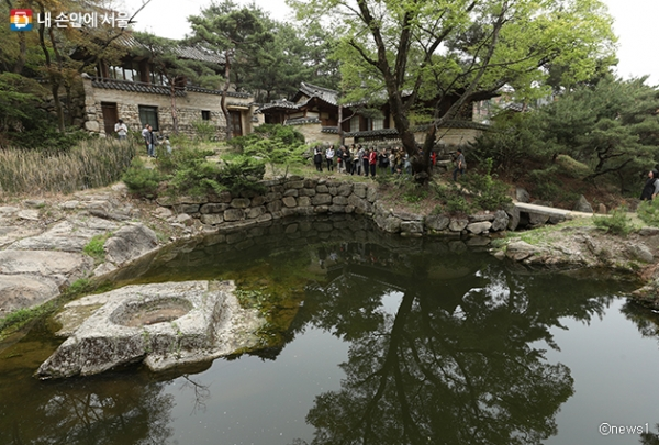 서울에 남아있는 유일한 한국 전통정원 성락원